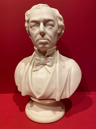 Parian Bust of Disraeli