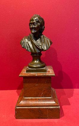 Bronze Bust of Voltaire