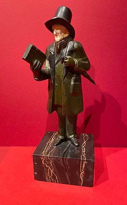 Bronze Victorian Gentleman