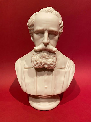 Parian Bust of Charles Dickens
