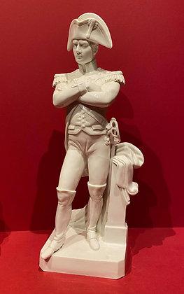 19th Century Glazed Porcelain Napoleon