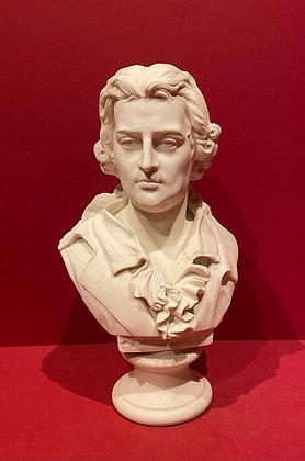 Parian Bust of the Poet Schiller