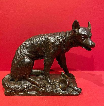 19th Century Bronze Animalia study