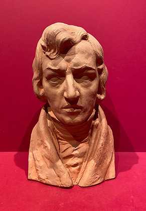 Terracotta Bust of Chopin