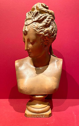 Terracotta Bust of Diane