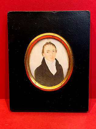 Fine Victorian Portrait Miniature
