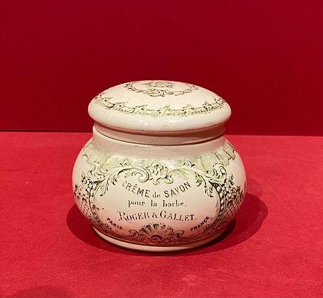 19th Century Shaving Cream Pot