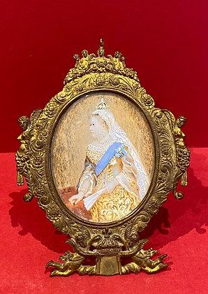 Portrait Miniature of Queen Victoria