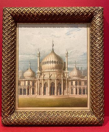 Early 19th Century Brighton Pavillion Aquatint