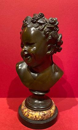 19th Century Classical Laughing Cherub Bust
