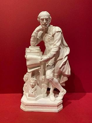 Parian Porcelain Shakespeare Figure