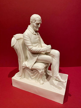 Seated Parian Figure of the Duke of Wellington
