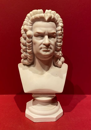 19th Century Parian Bust of Bach