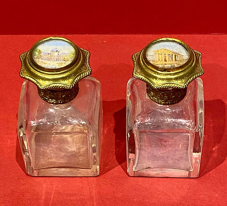 Early 19th Century Grande Tour Scent Bottles