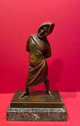 Bronze Grande Tour Pompeian Girl