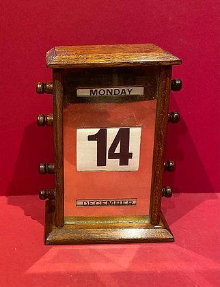 Early 20th Century Perpetual Calendar