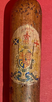 Baton bearing Royal Arms of Scotland