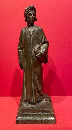 19th Century Bronze Figure of the Poet Dante