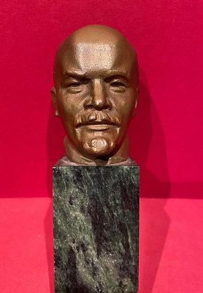 Gilt Bust of Lenin