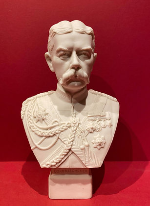 Parian Bust of Lord Kitchener