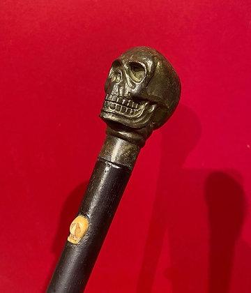 Bronze Skull Cane