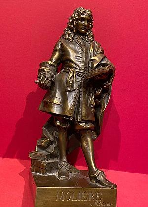 Molière Full Figure Bronze