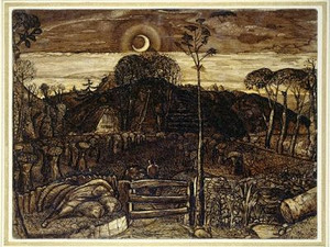Samuel Palmer in the Valley of Vision - the Other English Mystical Romantic Artist