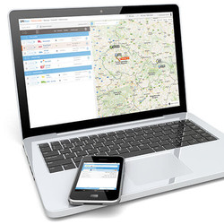 map-and-vehicle-list-interaction