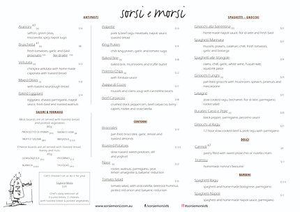 Italian Dinner St Kilda