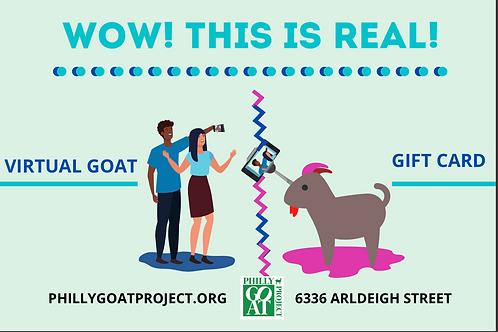 Virtual Goat Gift Card 10