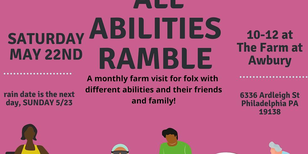 May All Abilities Ramble