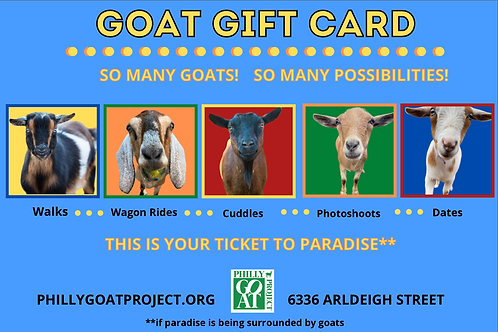 Goat Gift Card