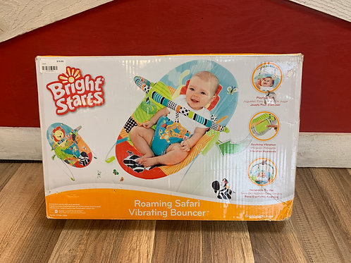 Bright Starts Roaming Safari Vibrating Bouncer