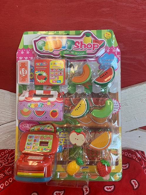 Fruit Shop Playset