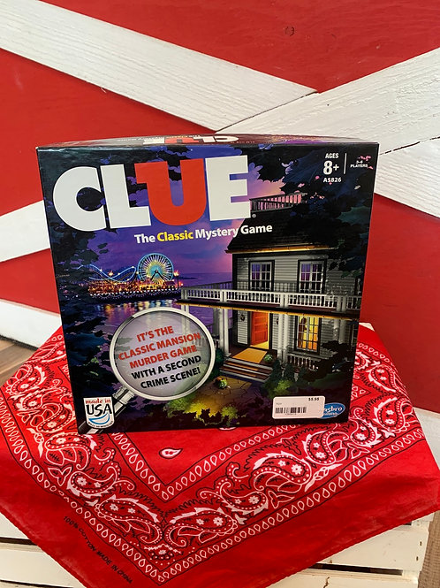 Clue — The Classic Mystery Game