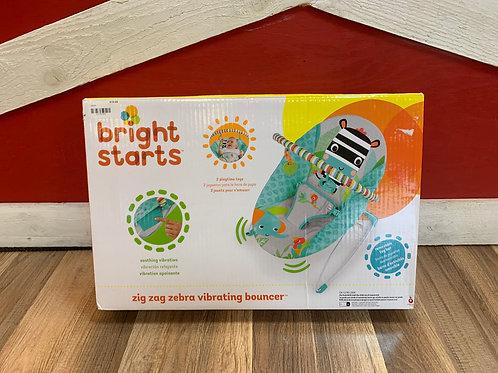 Bright Starts Zig Zag Vibrating Bouncer