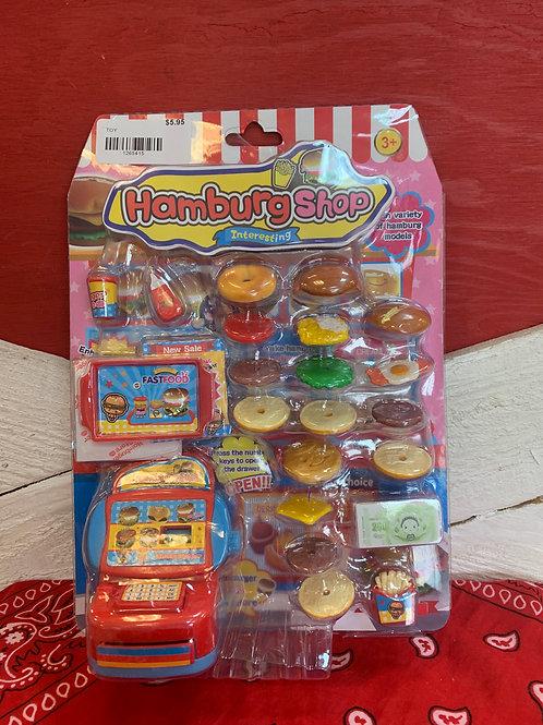 Hamburger Shop Playset