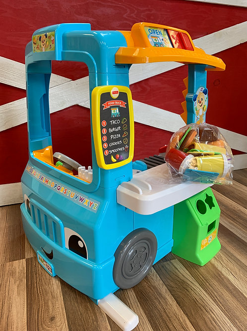 Fisher Price Laugh & Learn Servin' Up Fun Food Truck