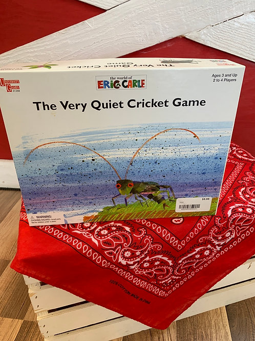 The Very Quiet Cricket Game