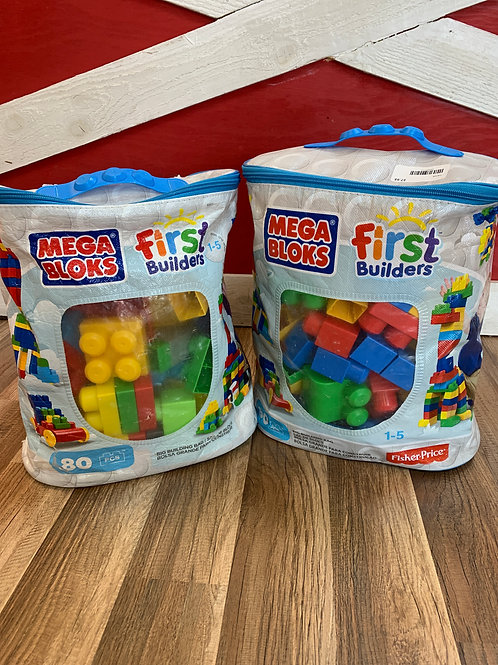 Mega Bloks First Builders 80 Count