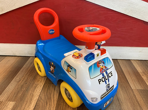 Mikey Mouse Ride-On Police Car