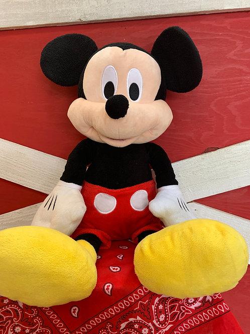 Large Mickey Mouse Plush