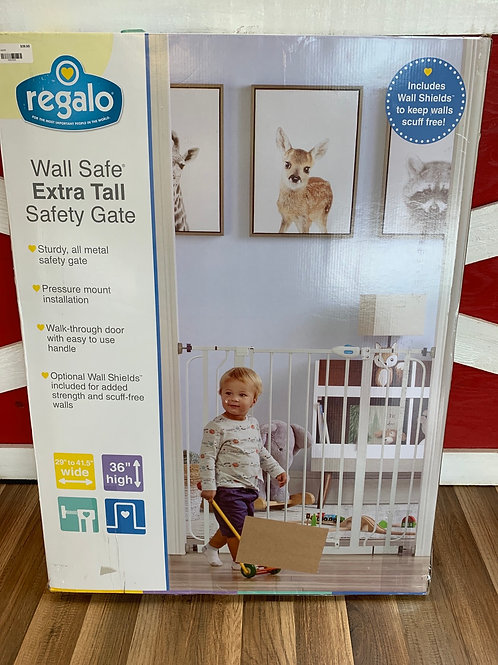 RegaloWall Safe Extra Tall Safety Gate