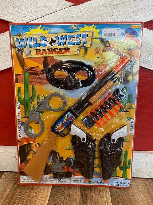 Wild West Ranger Playset