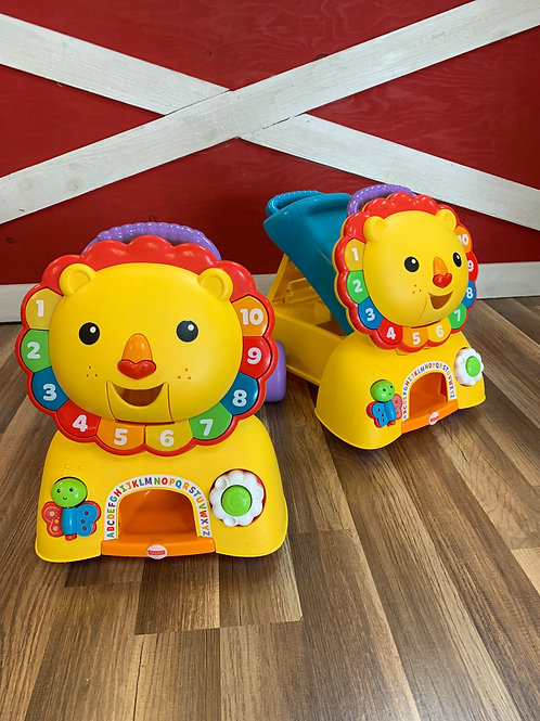 Fisher Price Lion Ride-On/Push Toy