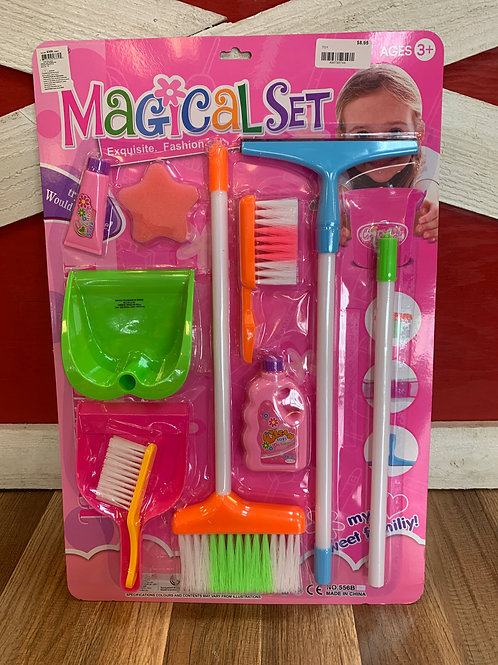 Clean-Up Playset