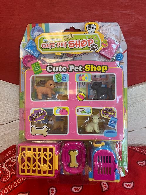 Cute Pet Shop Playset