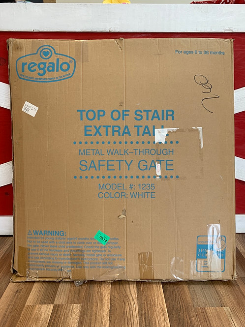 Regalo Top of the Stair Extra Tall Safety Gate