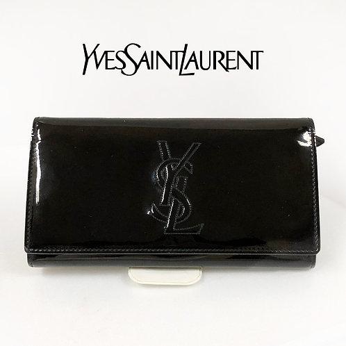 Yves Saint Laurent/イヴサンローラン エナメル長財布