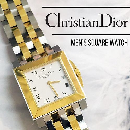 Christian Dior / クリスチャン ディオール メンズ スクエア 腕時計